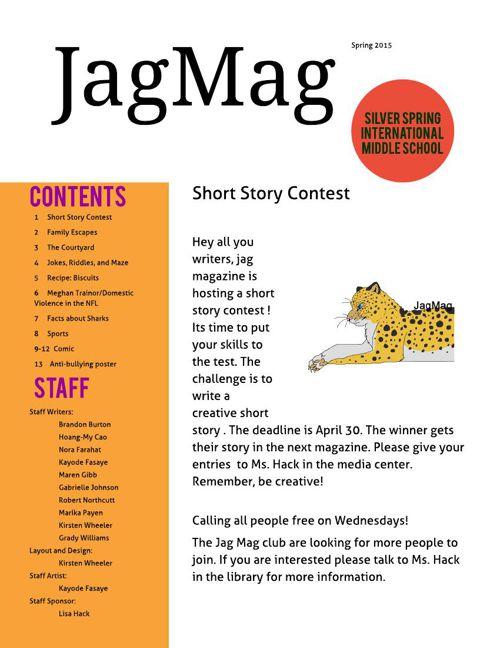 JagMag Spring 2015