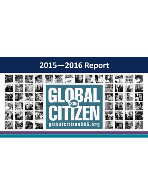 Global Citizen Annual Report 2015-2016