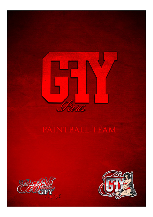 GFY Paris Paintball team press kit 2011