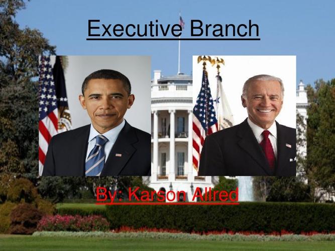 Executive branch karson allred