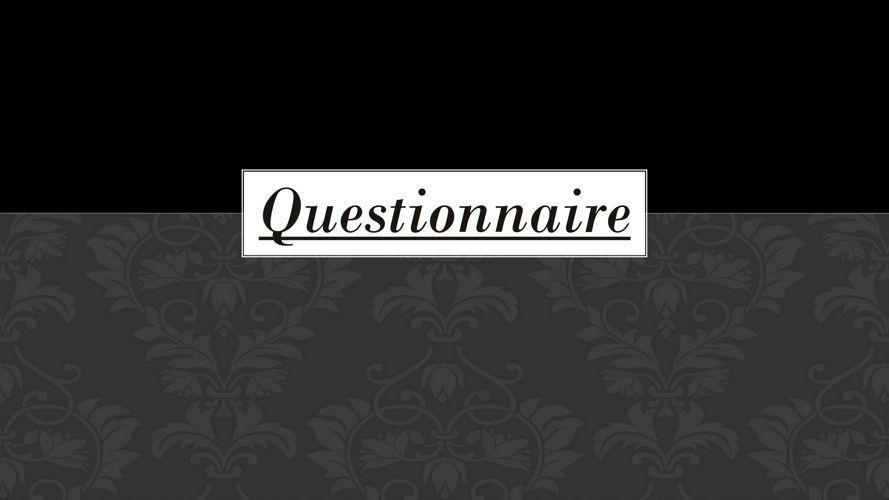 Questionairre