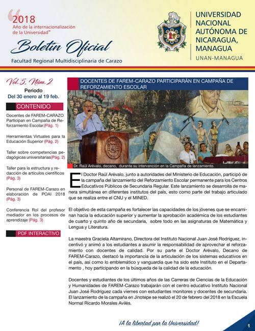 Boletin Vol.5 - Núm.2