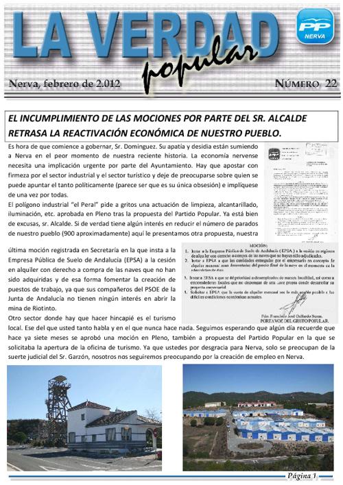 """Revista Digital """"La Verdad Popular"""" Nº22"""