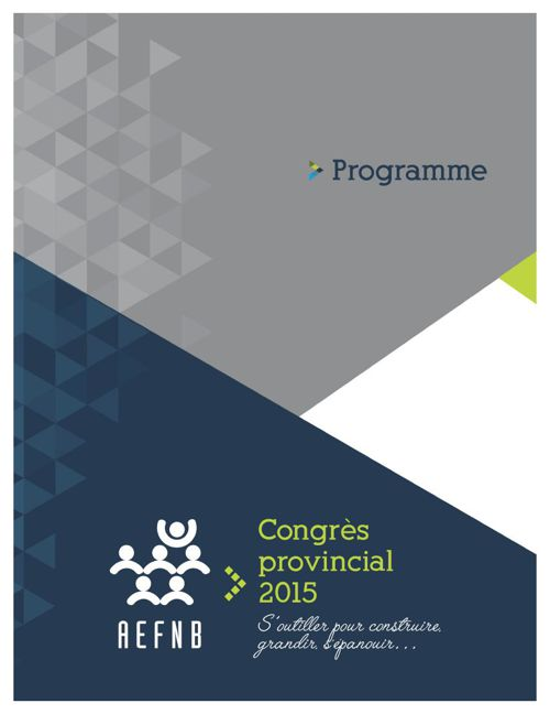 Programme officiel - Congrès 2015 (août)-2