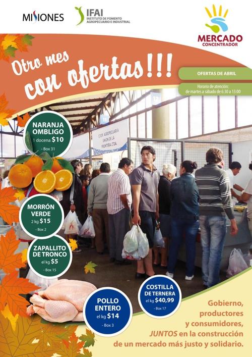 OFERTAS MERCADO ABRIL