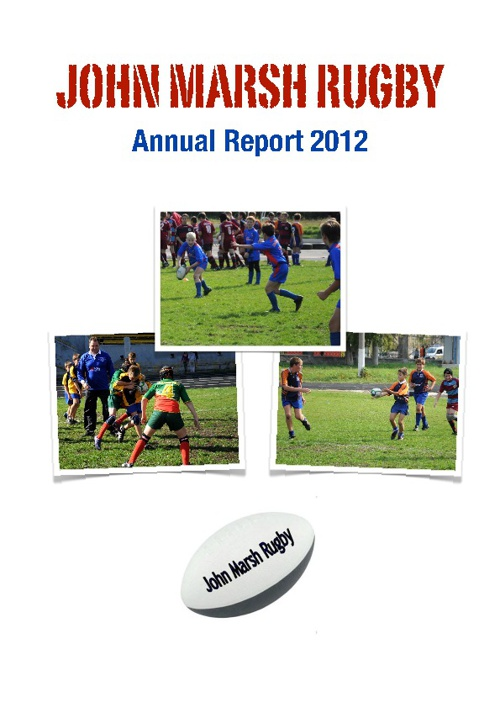 John Marsh Rugby 2012 Annual Report