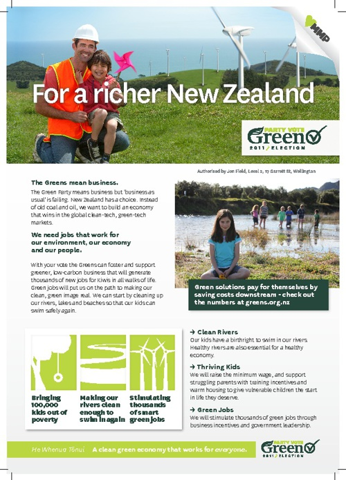 For a richer New Zealand - Green Jobs