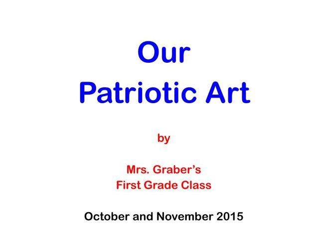 patriotic art
