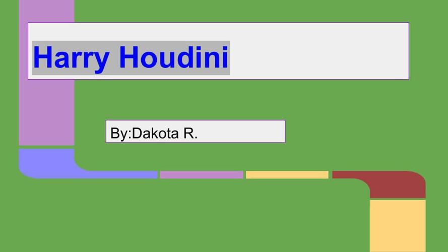 Harryhoudini