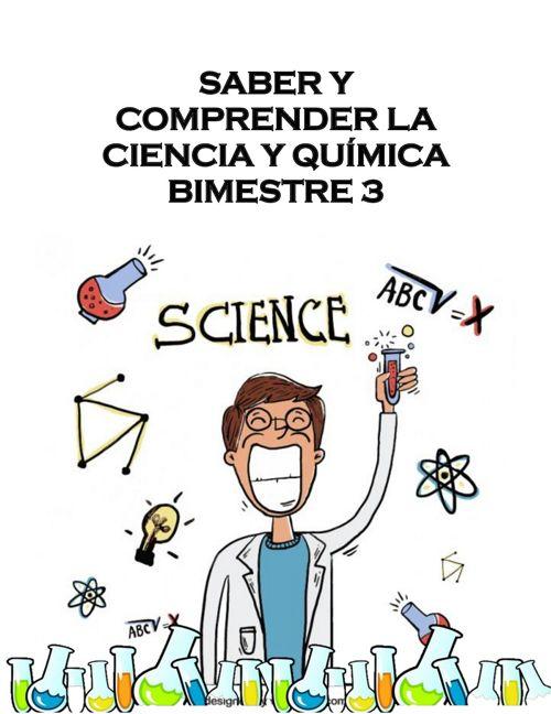 trabajo bimesral de quimica 3