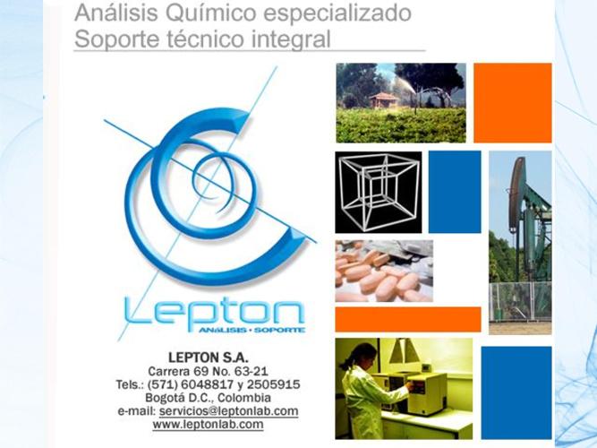 Lepton S.A. Portafolio 2012