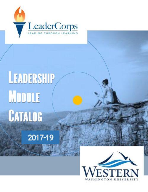 2017-19 WWU LeaderCorps_Catalog final