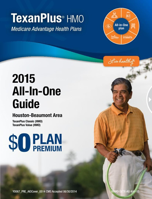 TexanPlus HMO Houston-Beaumont 2015 All-In-One Guide