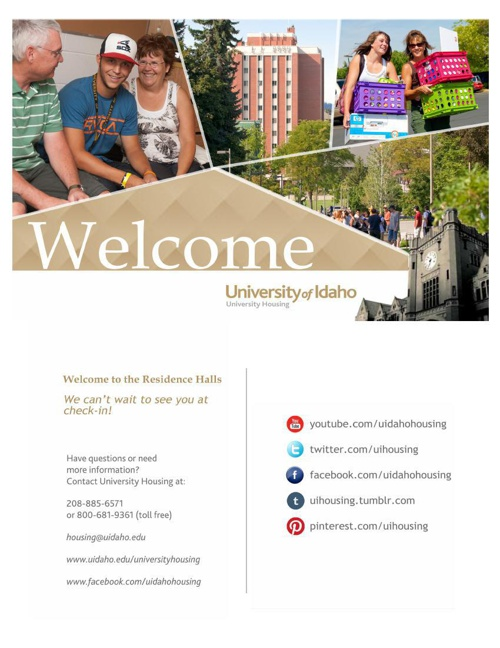 August Residence Hall Move-In Guide