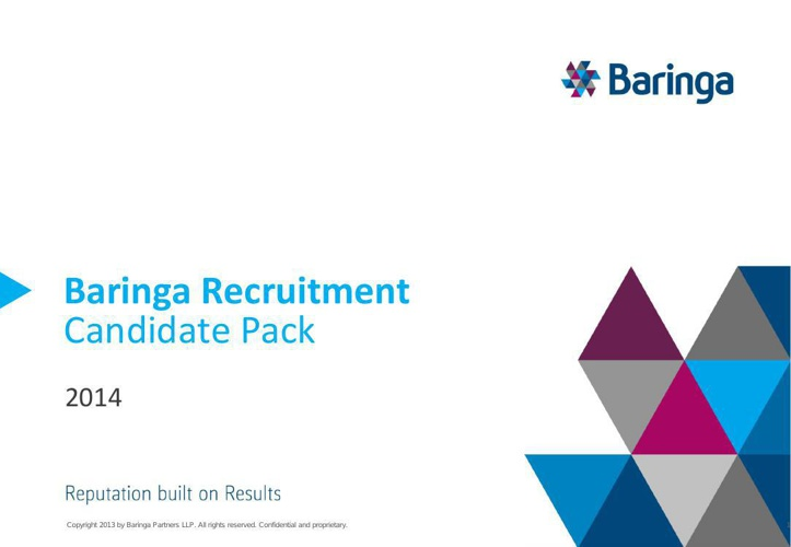 Baringa Candidate Pack 2014 v1