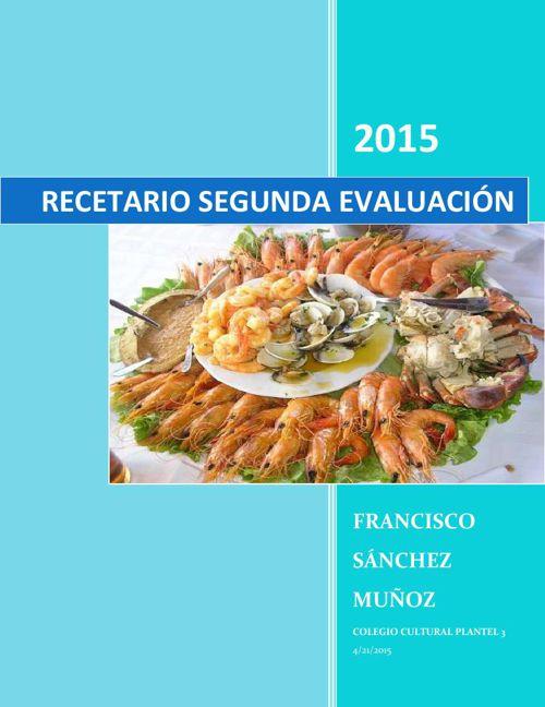 recetario FSM