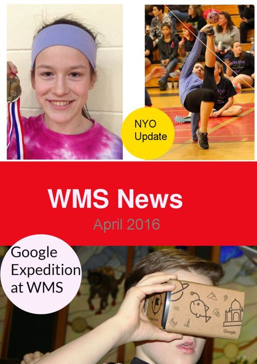 WMS April Newsletter