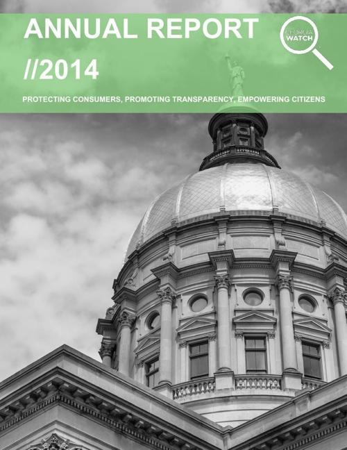 Georgia Watch Annual Report 2014