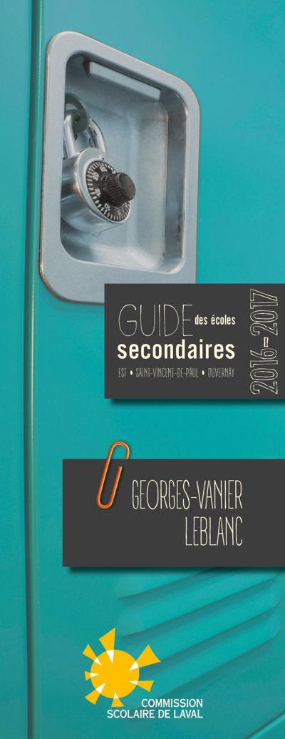 Guide Georges-Vanier et Leblanc