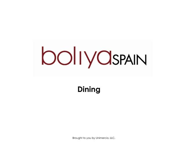 boliya Dining