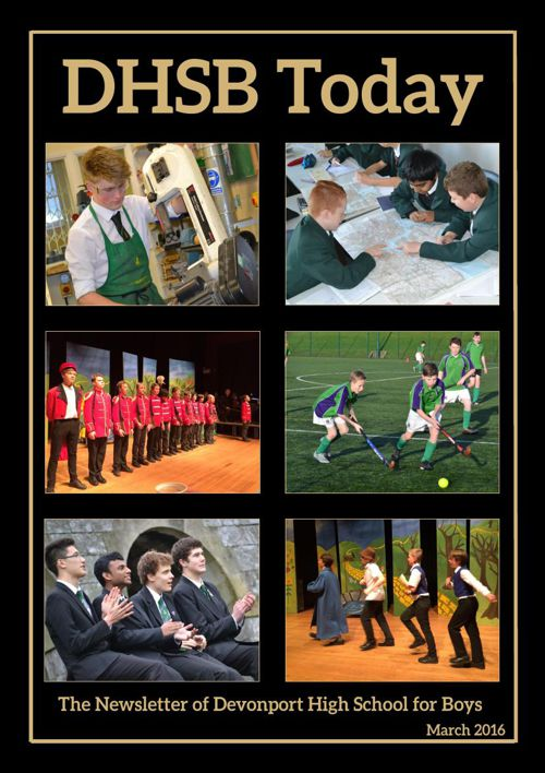 DHSB Today March 2016