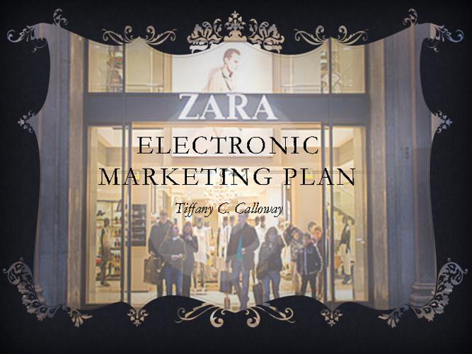 Electronic Marketin Plan