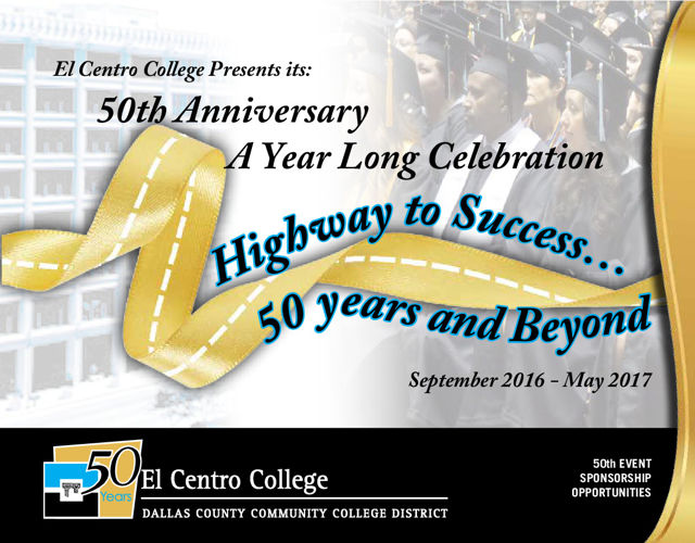 El Centro College 50th Event Sponsorship