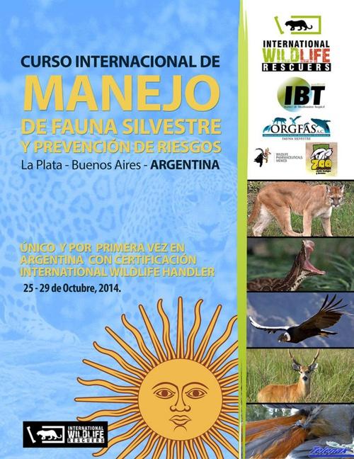 CURSO INTERNACIONAL DE MANEJO DE FAUNA SILVESTRE