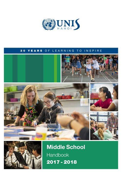 Middle School Handbook 2017-2018