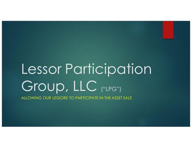 LPG website presentation