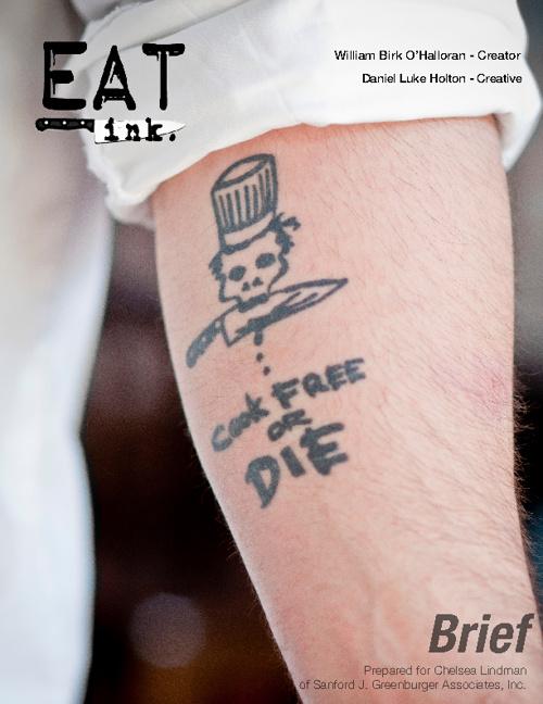 Eat, Ink. - Brief