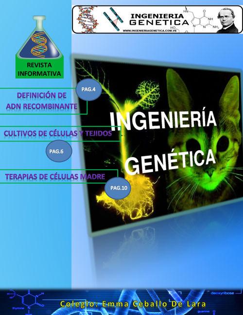 revista  ingeniería genética