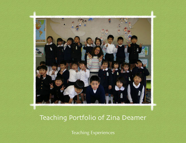 Teaching Portfolio Book 2