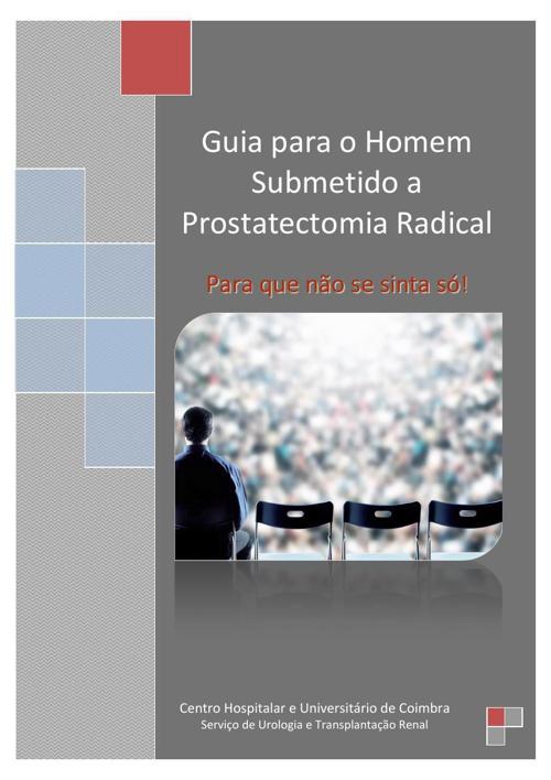 livro do homem submetido a prostatectomia radical