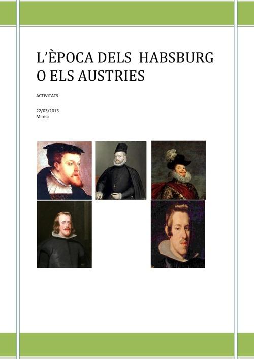 Activitats dels Habsburg