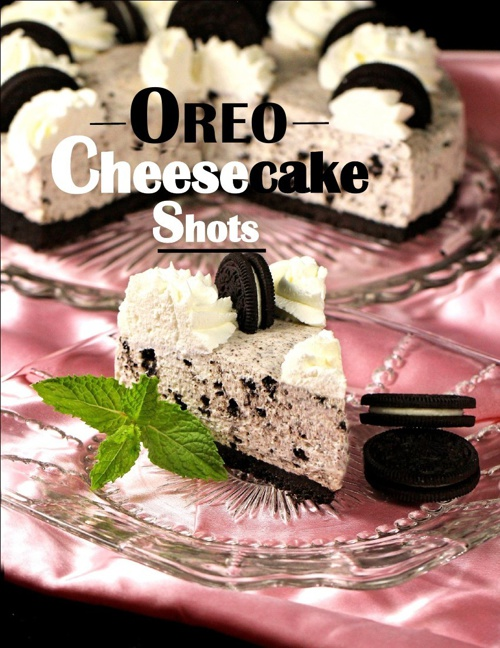 OREO Cheesecake Shots