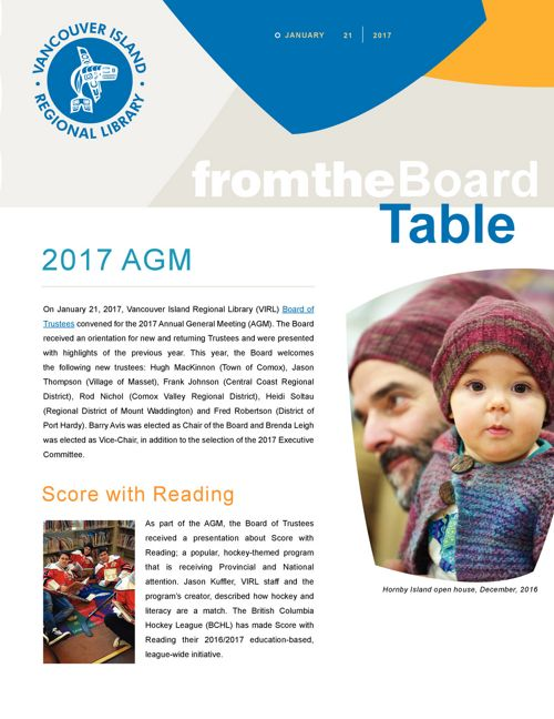 2017 AGM From-the-Board-Table