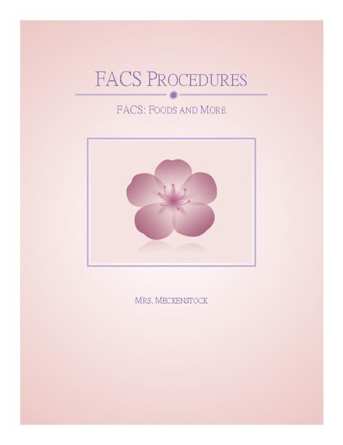 FACS Introduction & Procedures