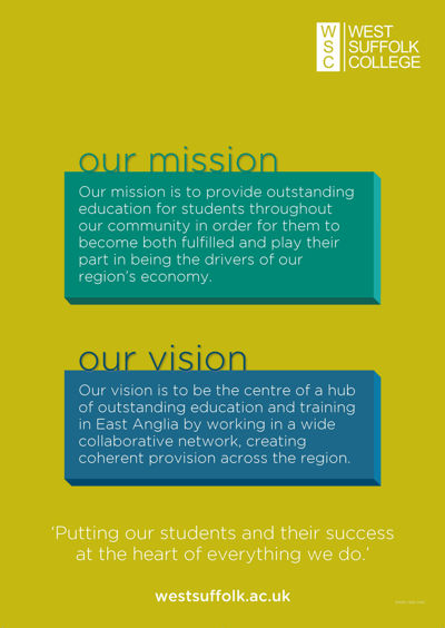Our Mission, Our Vision & Our Three Pillars