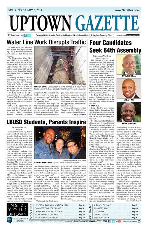 Uptown Gazette     May 2, 2014