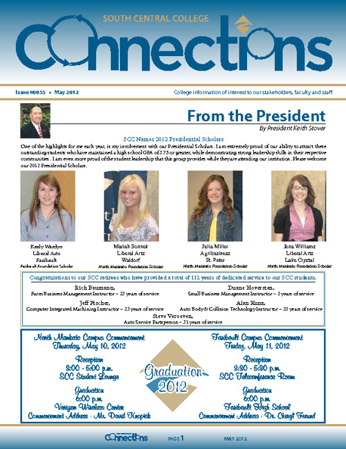 May 2012 Connections Newsletter