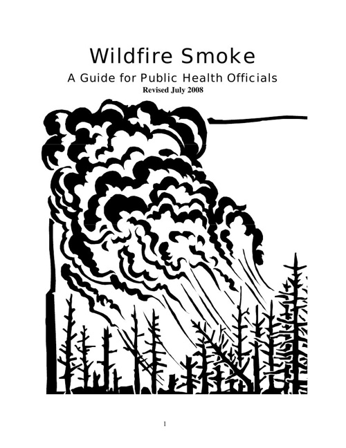 Wildfire Smoke Guide_California 2008
