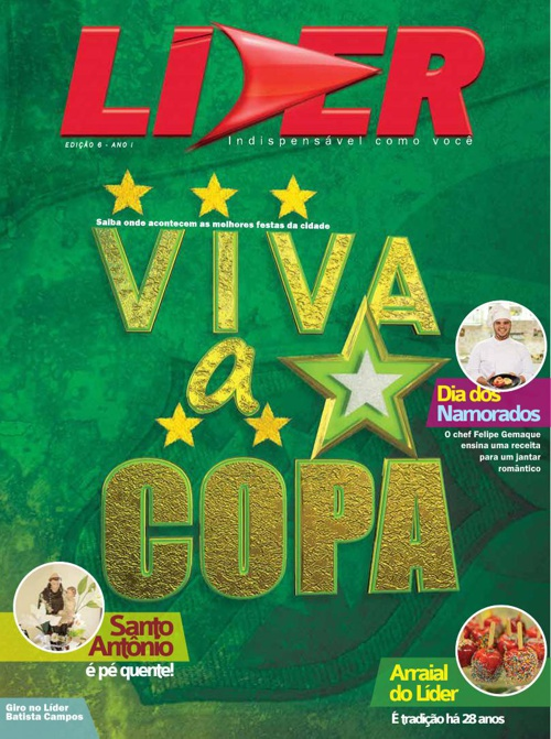 Revista Grupo LÍDER edição Junho de 2014
