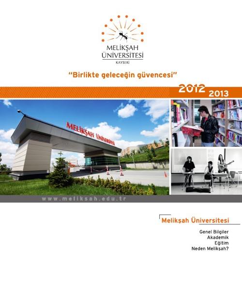 Melikşah Üniversitesi Genel Broşür