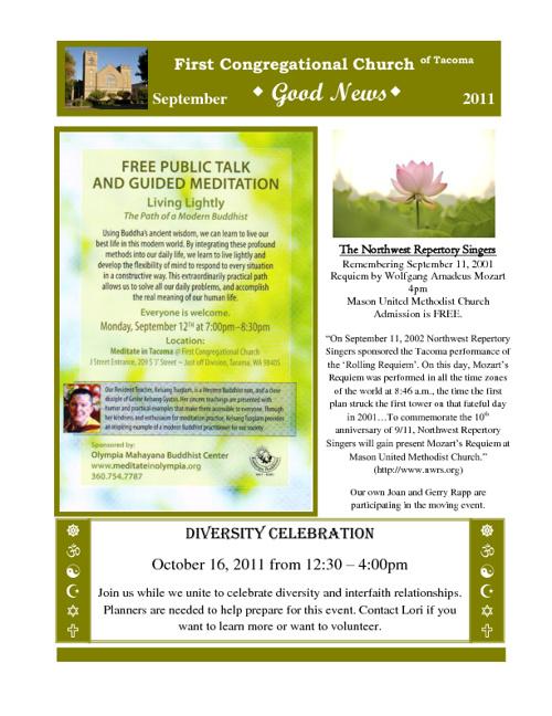 Copy of Copy of September 2011 Good News