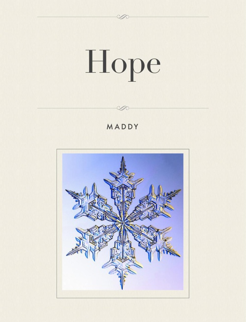 Hope - Maddy's Story