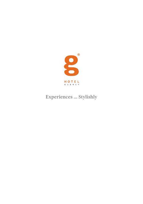 G Hotel Gurney Brochure