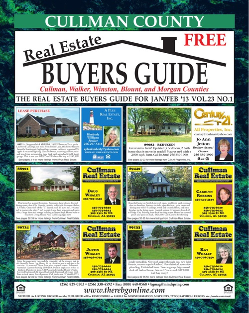 Cullman County Buyer's Guide