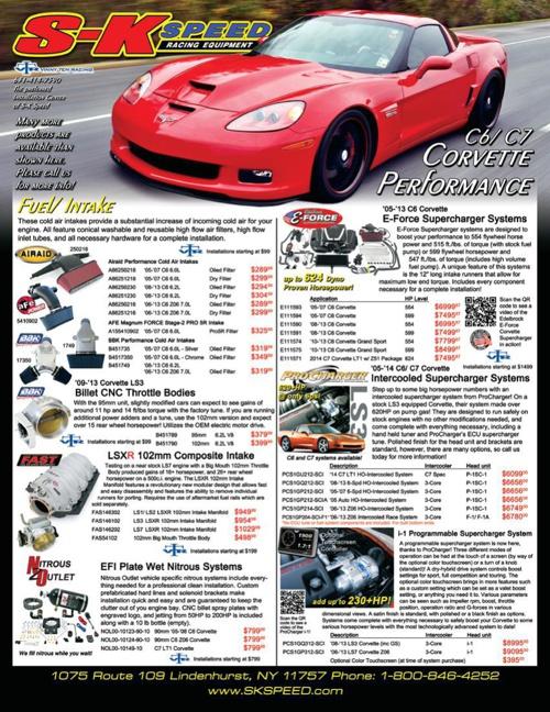 Corvette Single Page Flyer