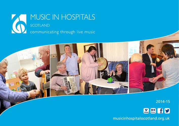 Music in Hospitals Scotland Annual Review 2014-15